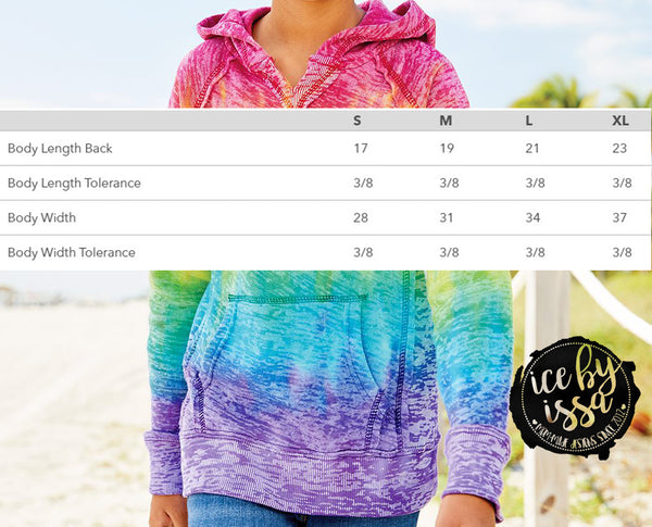 Ice By Issa Tie Dye Youth Hoodie
