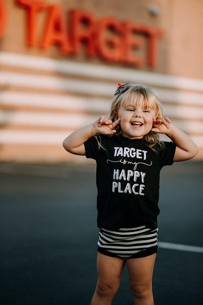 Target is my Happy Place Kids Tee