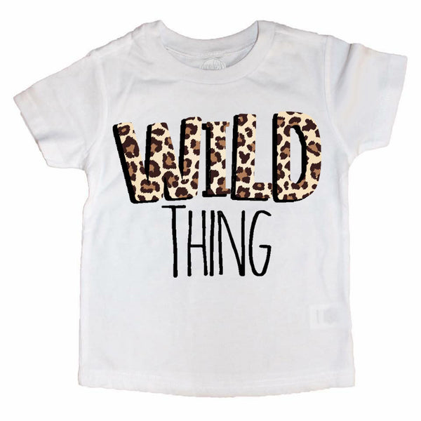 Limited Leopard Holy CHIC & WILD Thing Tees