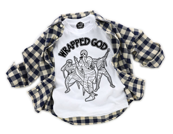 Wrapped God Kids Tee