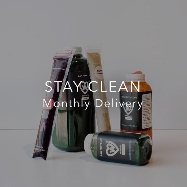 Stay Clean. Monthly Delivery