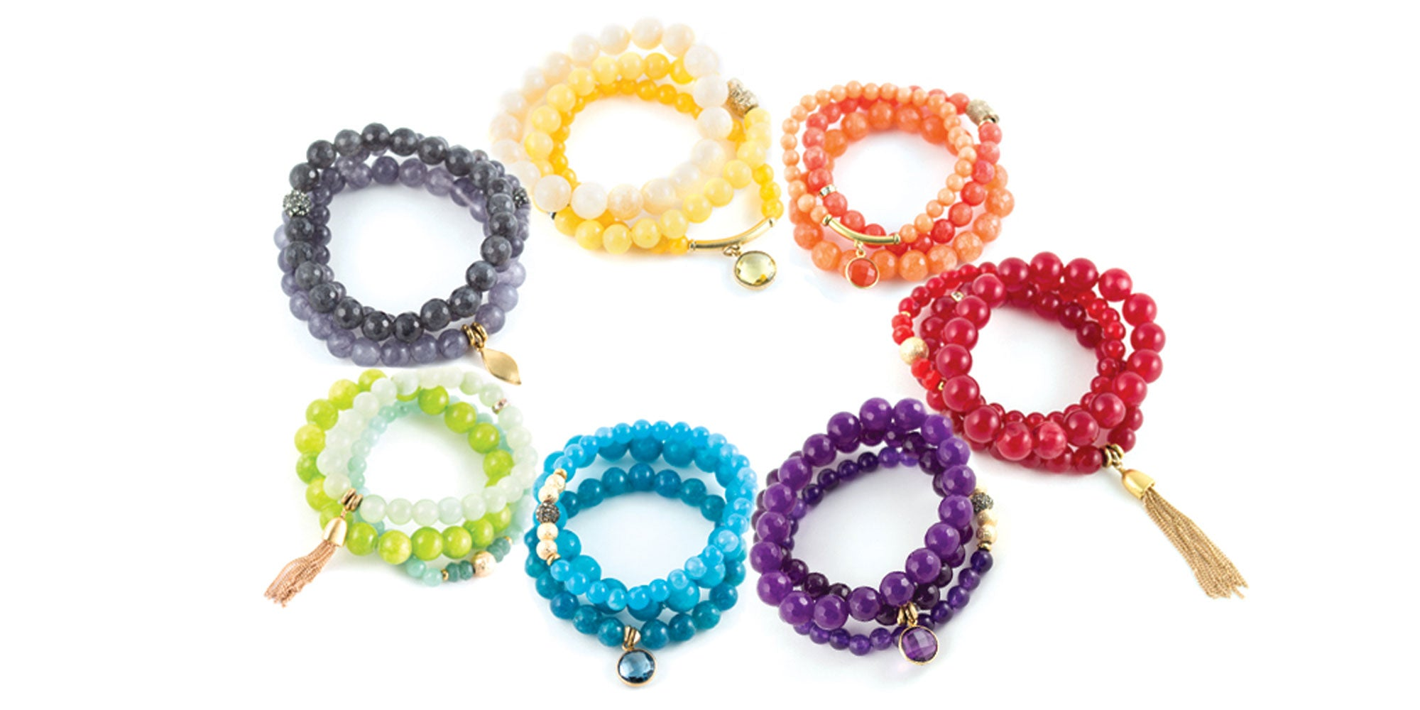 Color Karma Bracelets by Sequin