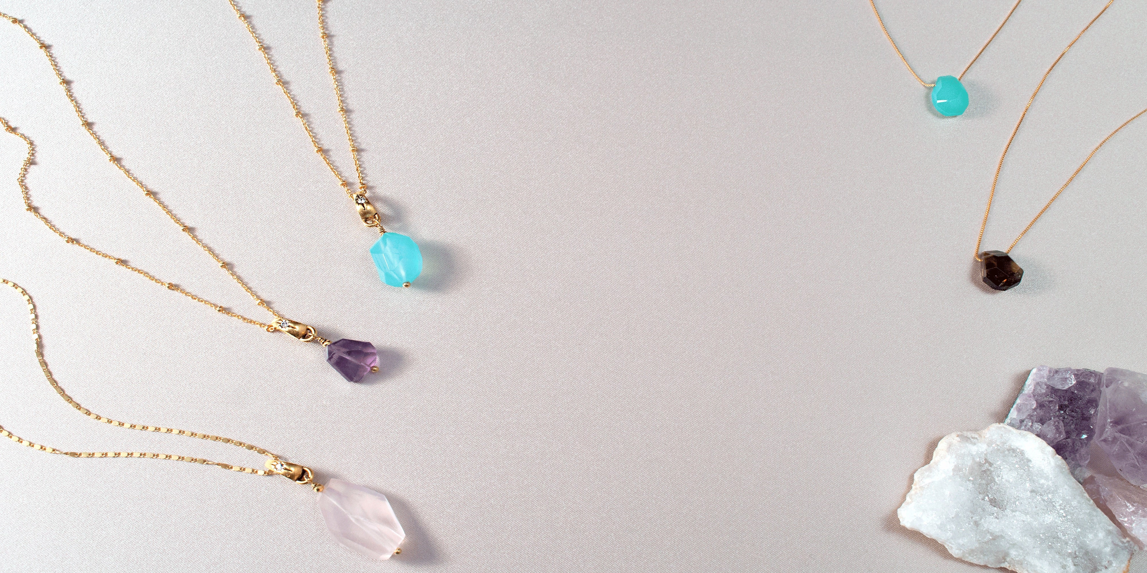 Crystal Necklace Collection by Sequin