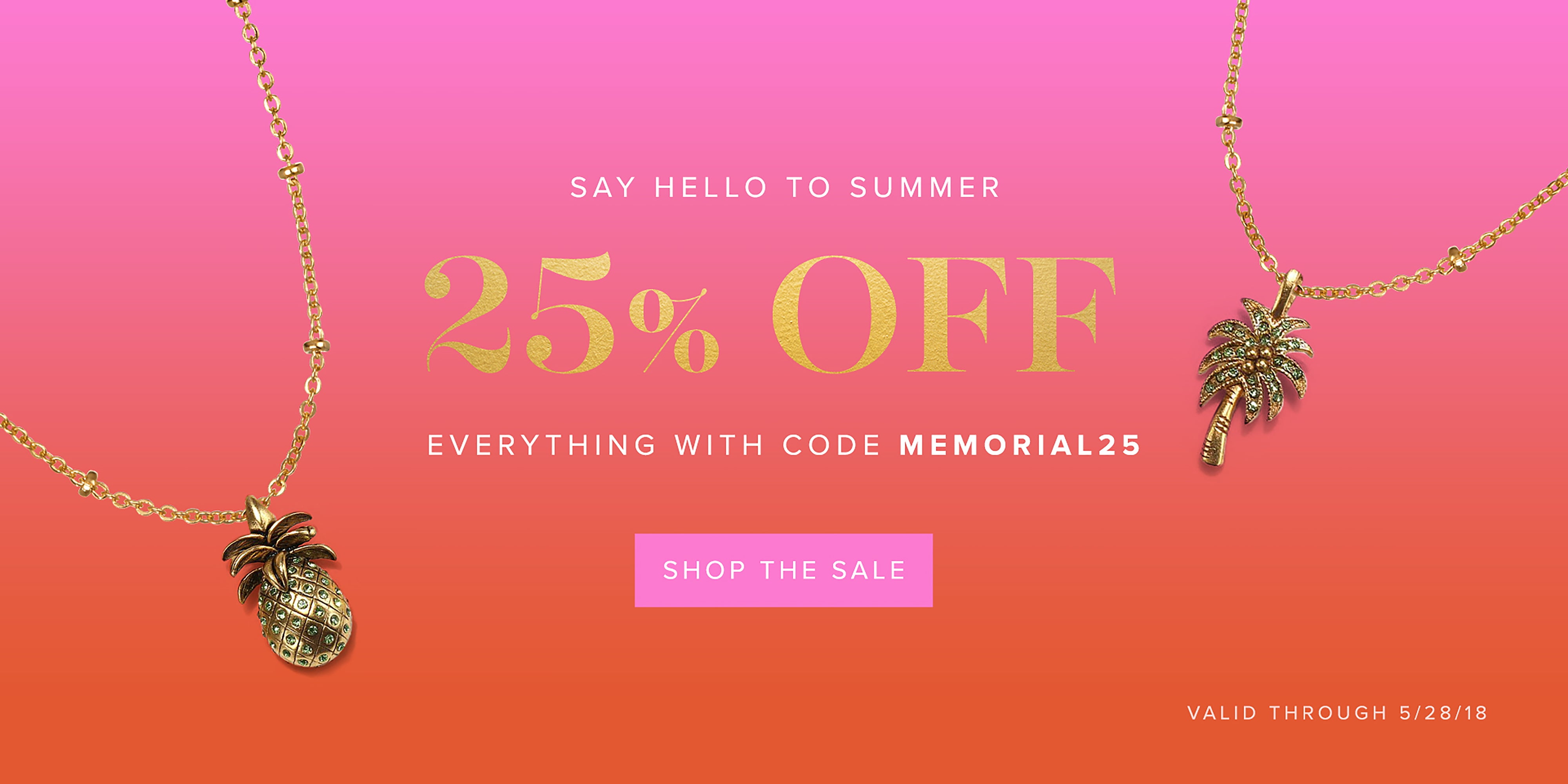 Memorial Day Weekend Sale! 25% off our Entire Site