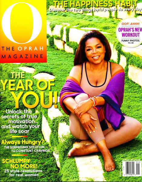 O, The Oprah Magazine January 2016 Cover