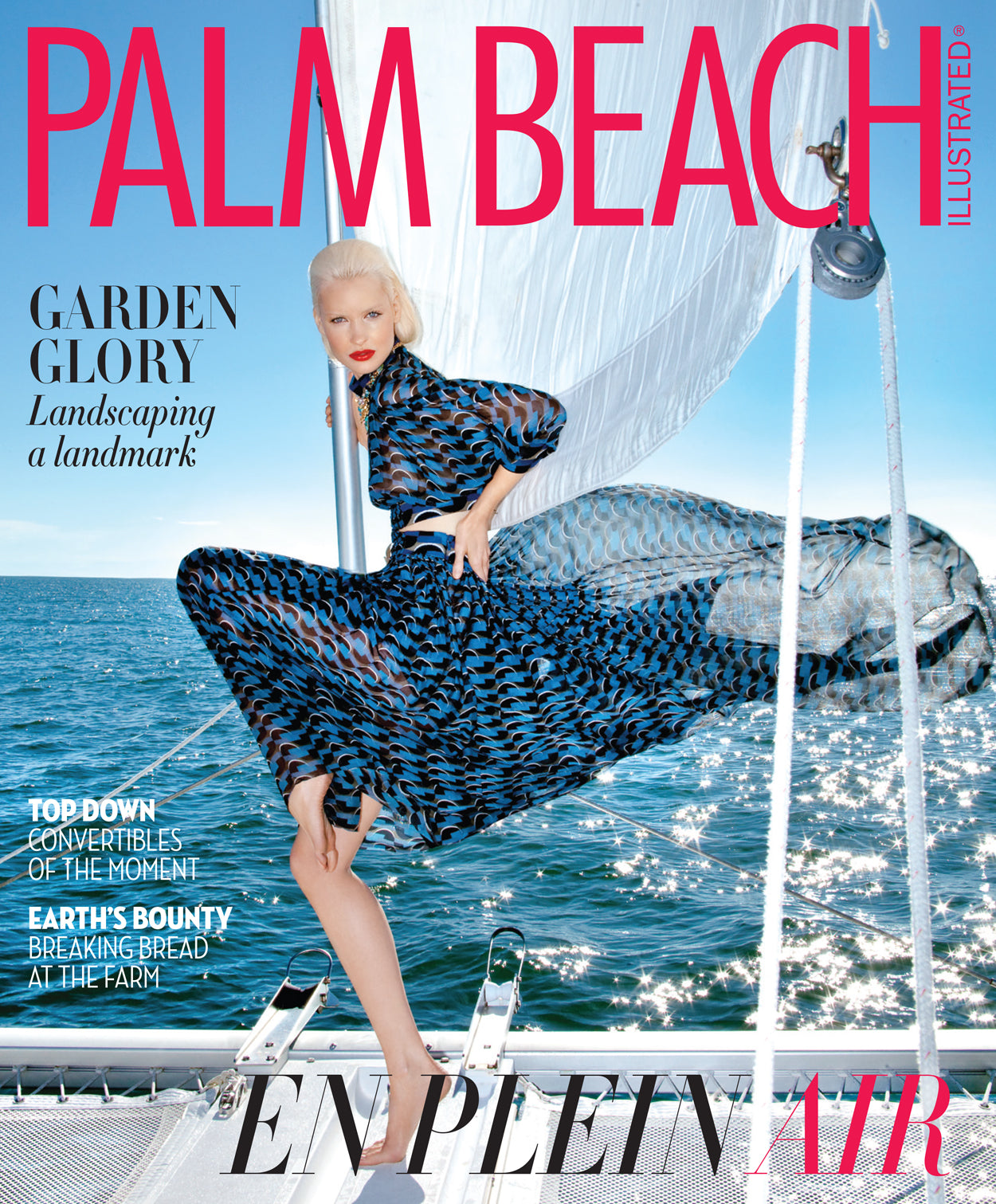 Palm Beach Illustrated February 2016 Cover