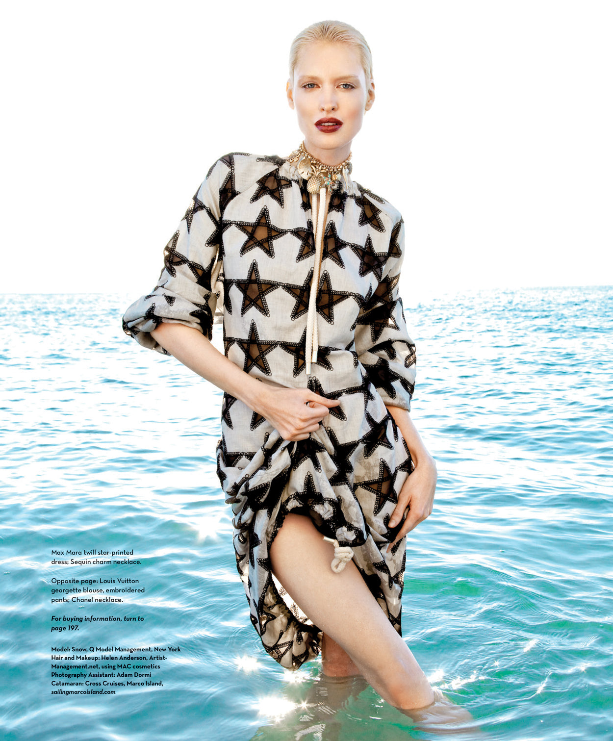 Palm Beach Illustrated & Naples Illustrated Fashion Editorial, February 2016