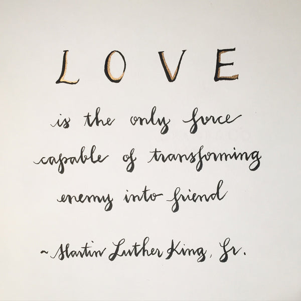 #SequinSayings - in honor of #MLKDAY