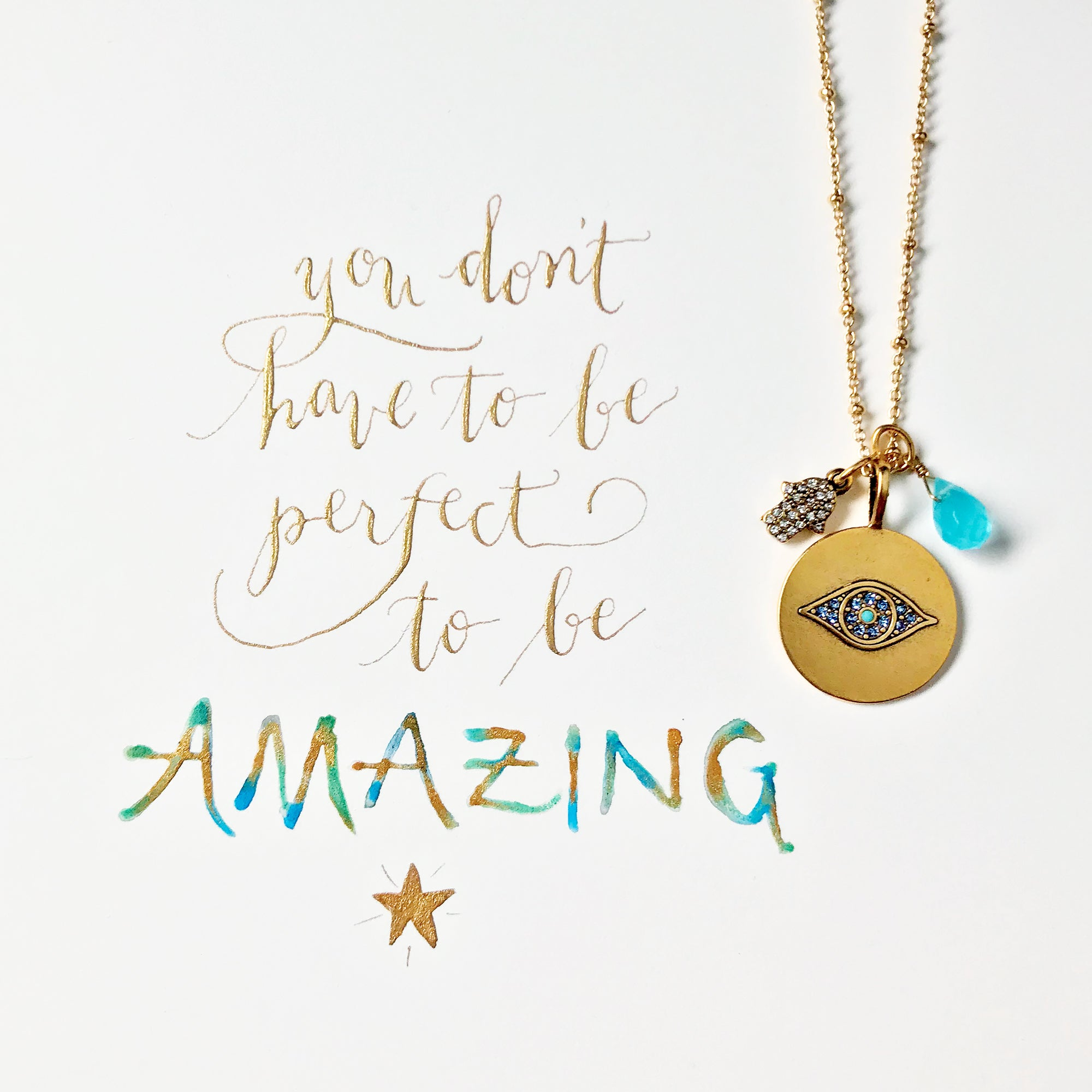 #SequinSayings - You don't have to be perfect to be AMAZING