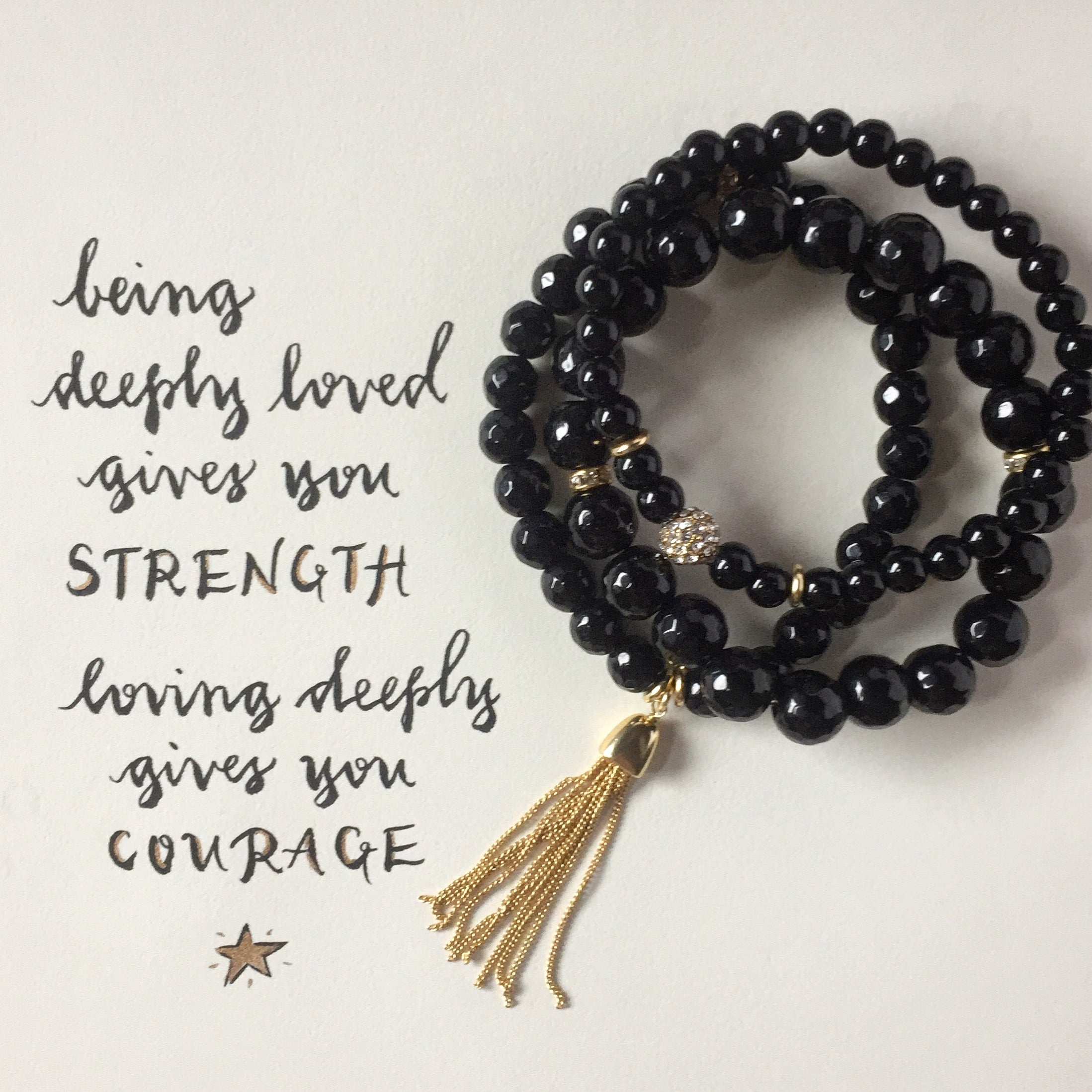 #SequinSayings - Strength vs. Courage