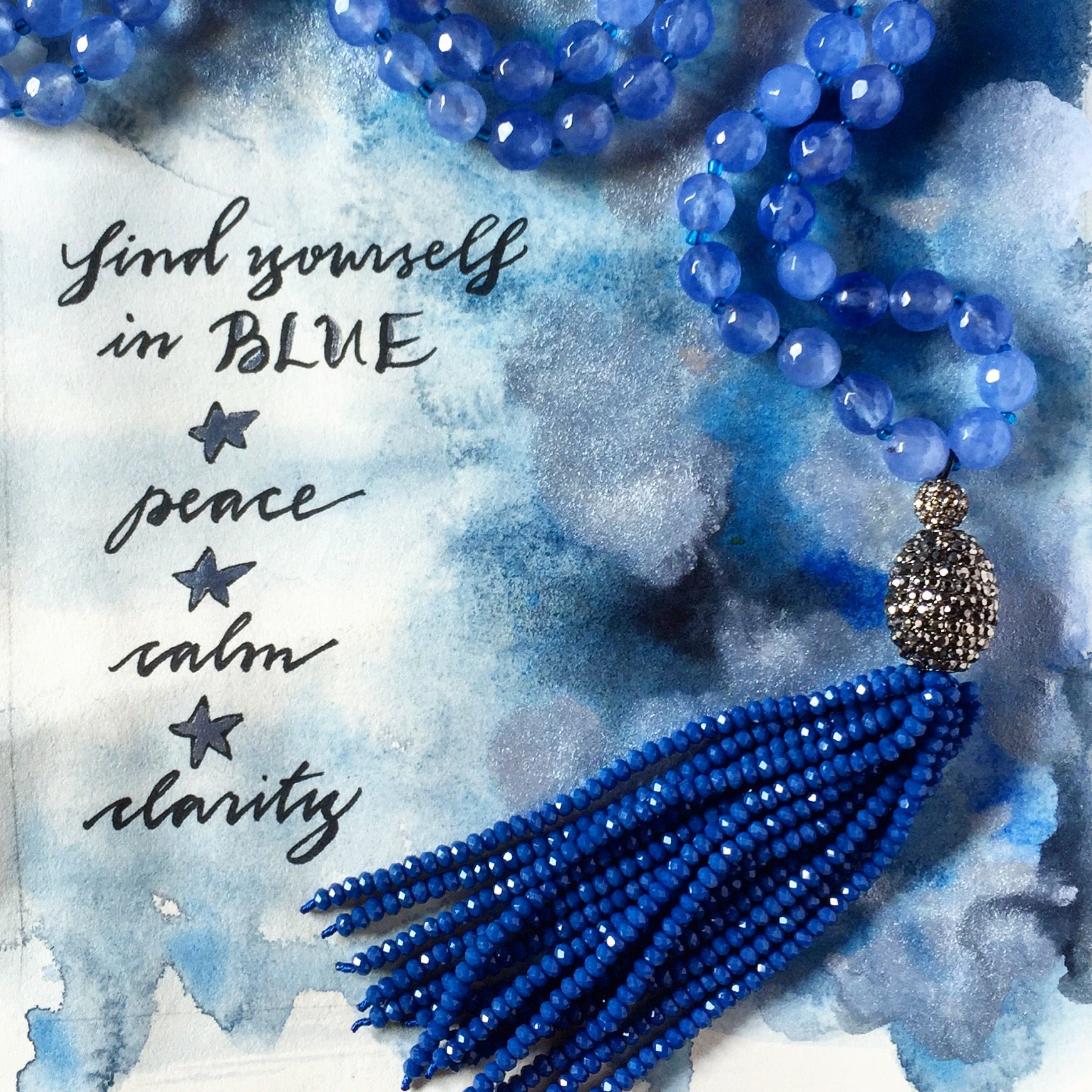 #SequinSayings - Find Yourself in Blue...