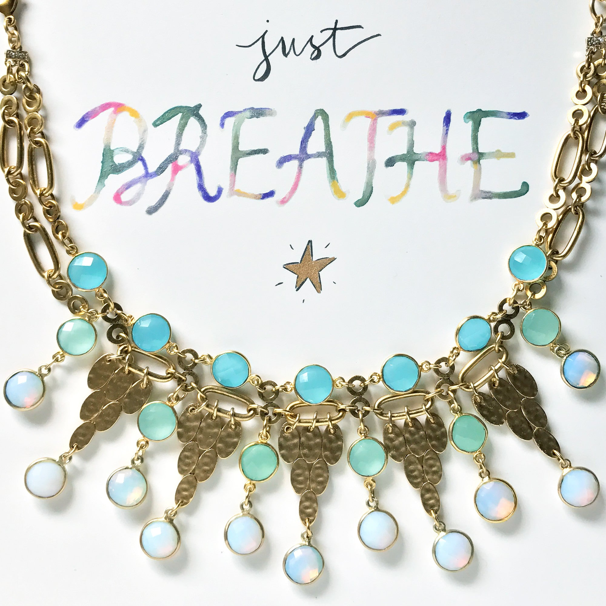 #SequinSayings - Just Breathe...