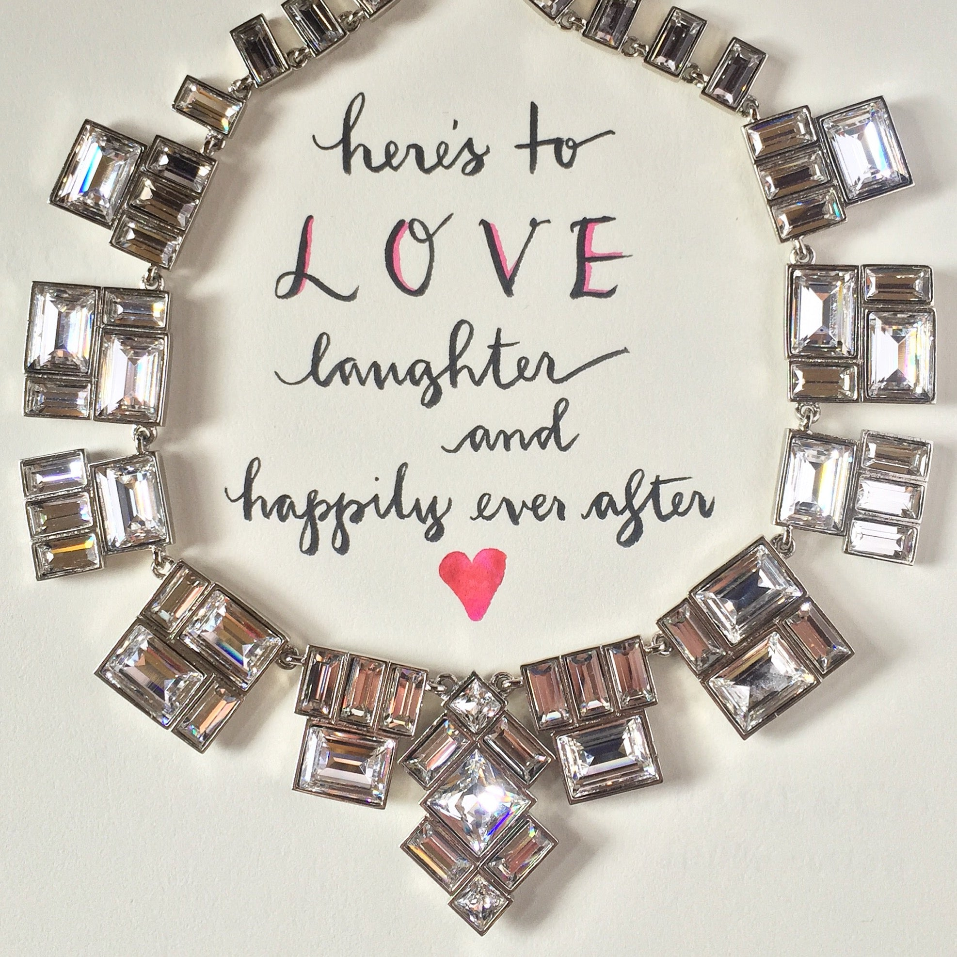 #Sequin Sayings - Here's to LOVE...