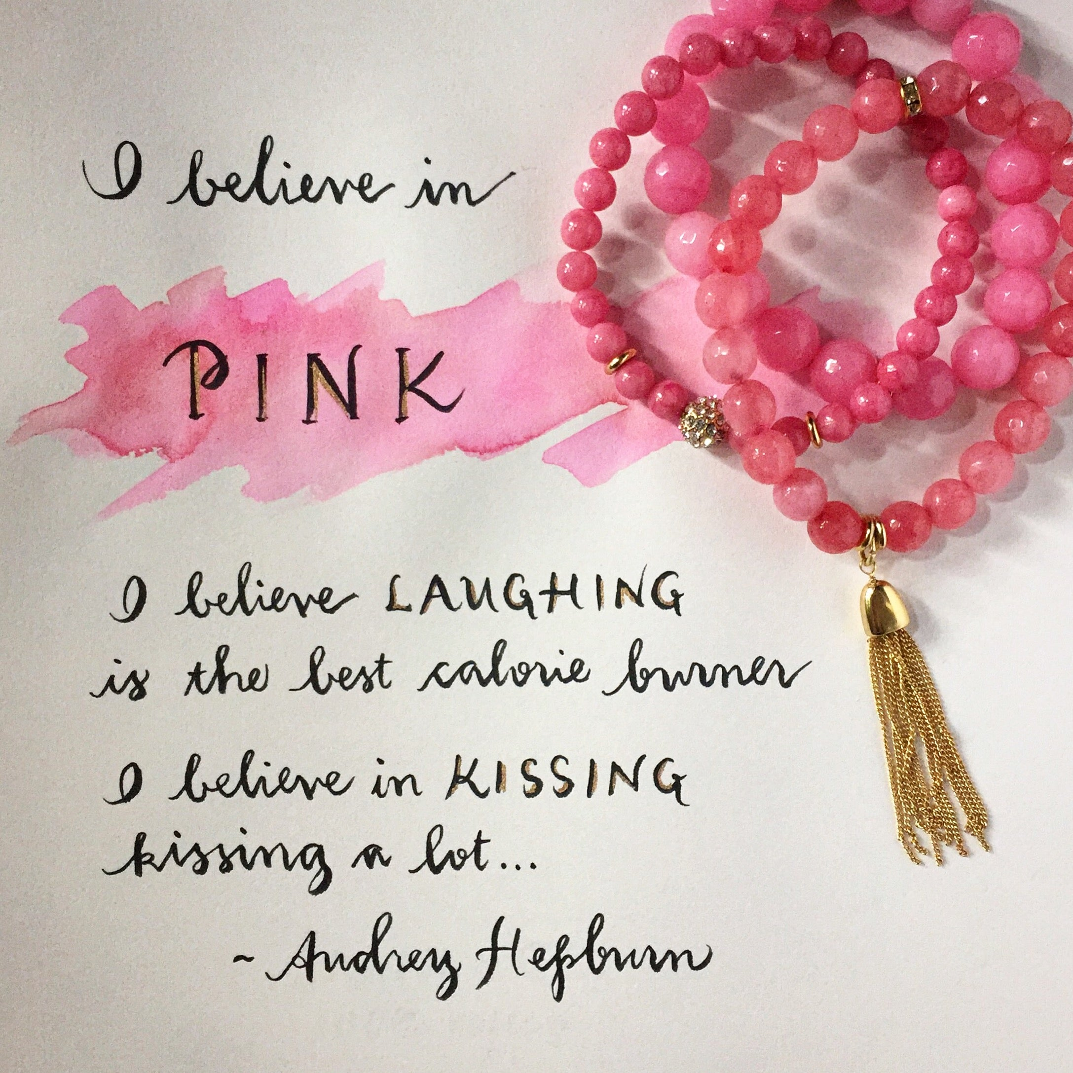 "#SequinSayings - ""I Believe in Pink..."""