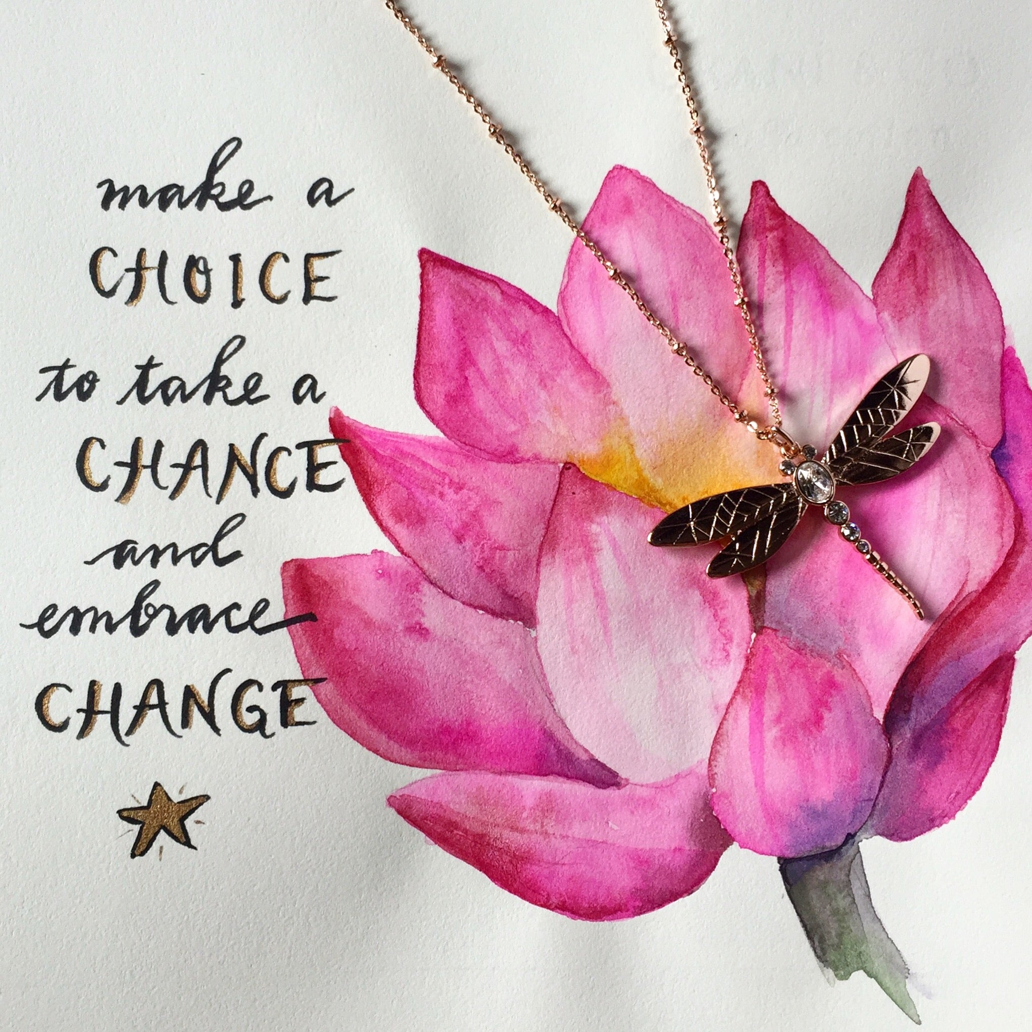 #SequinSayings - Choose to Embrace Change