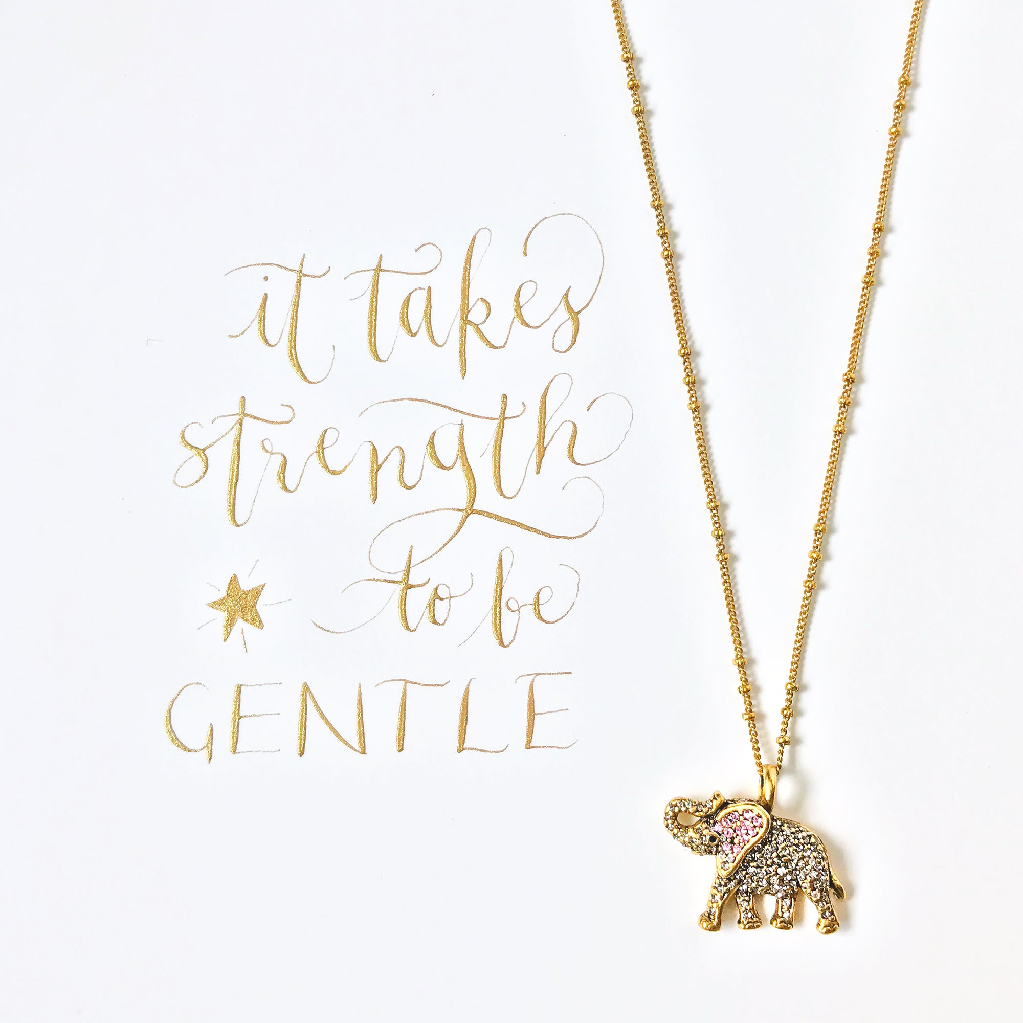 #SequinSayings - It Takes Strength to be Gentle...