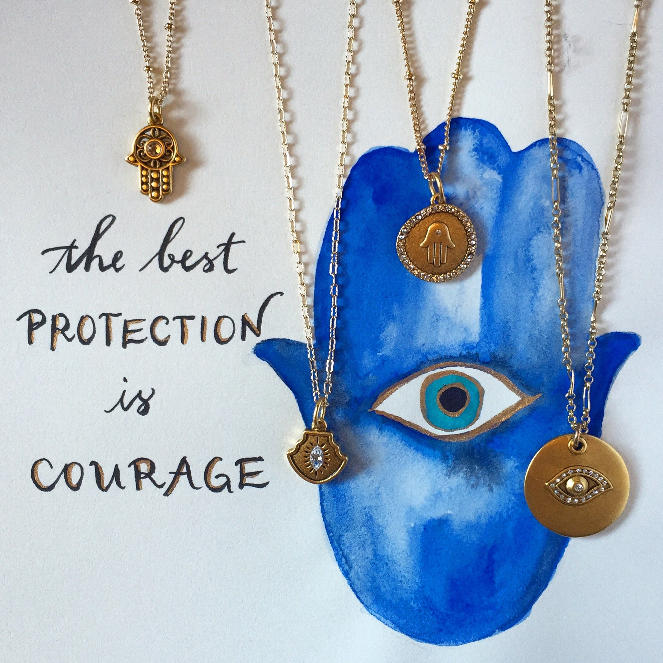 #SequinSayings - Courage is the Best Protection