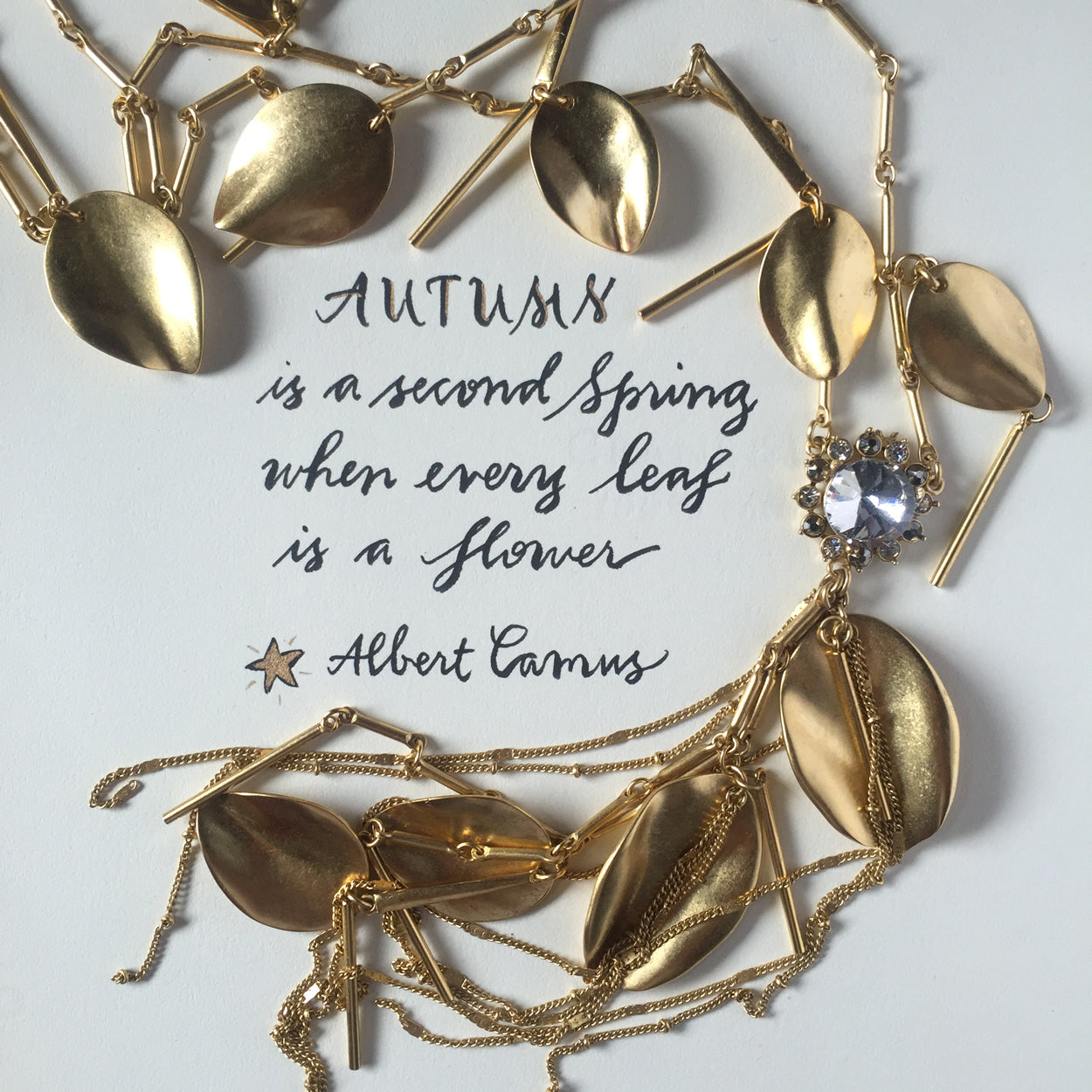 #SequinSayings - Autumn Is...