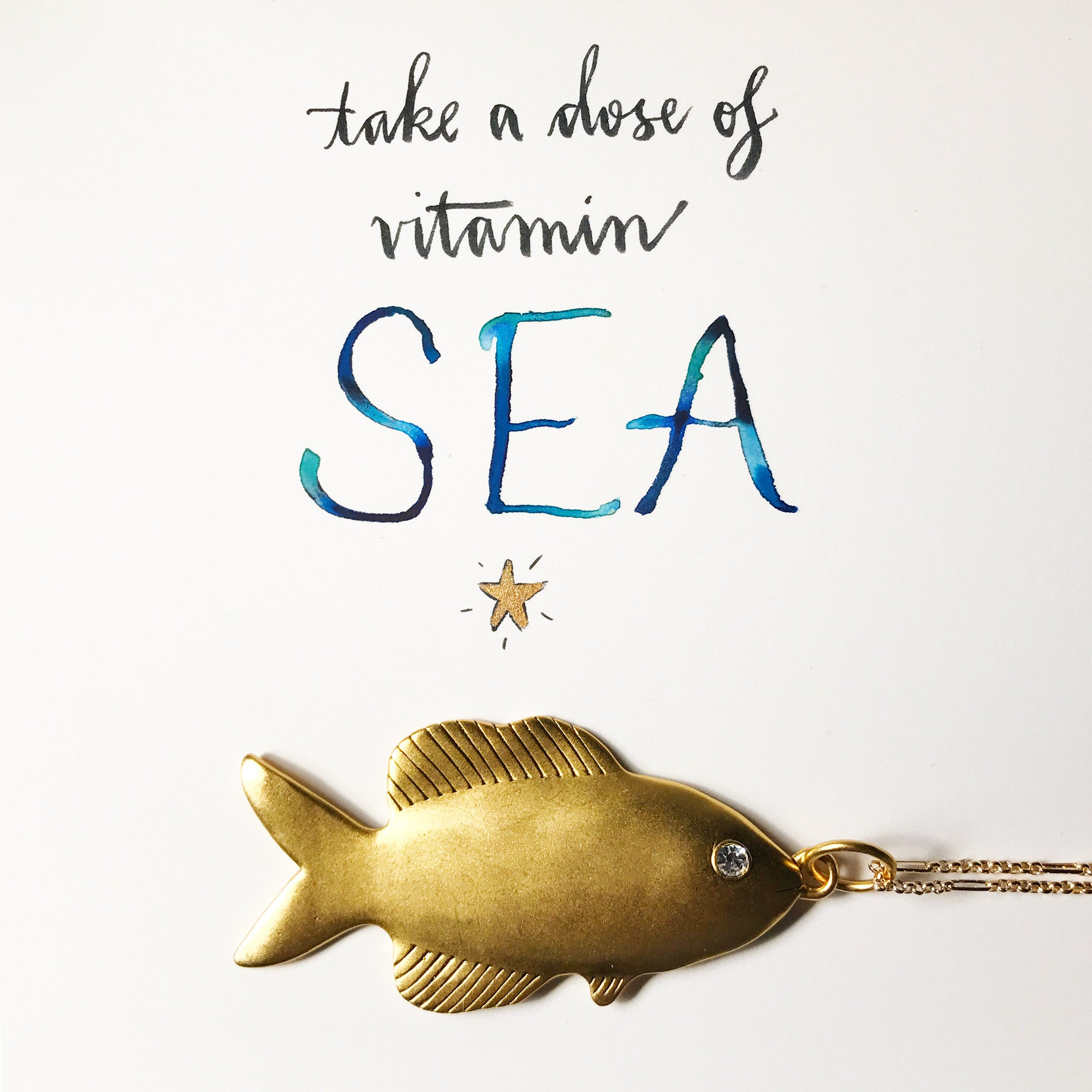 #SequinSayings - Take a Dose of Vitamin SEA