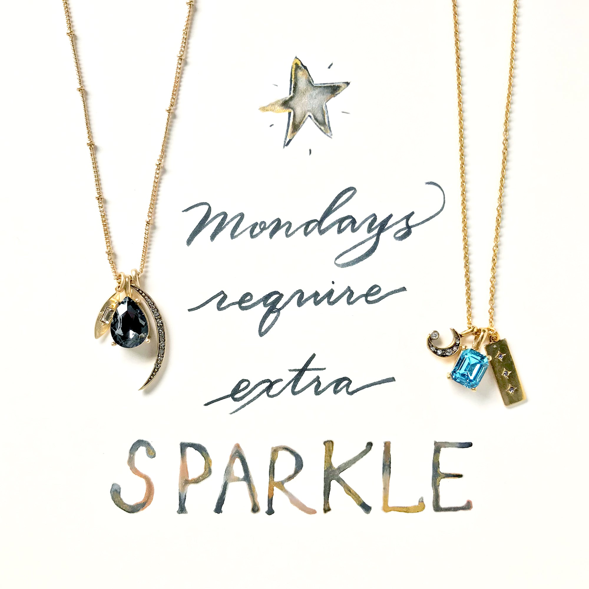 #SequinSayings - Mondays Require Extra Sparkle...