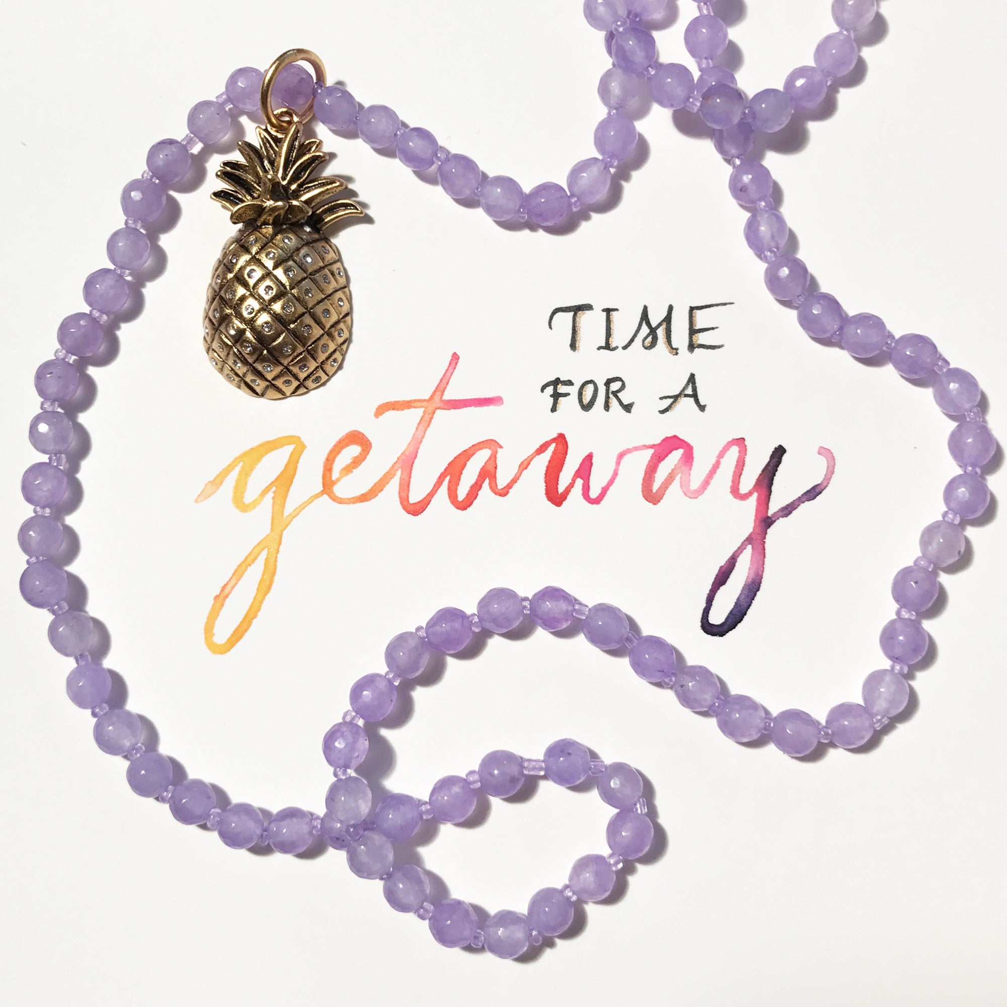 #SequinSayings - Time for a Getaway
