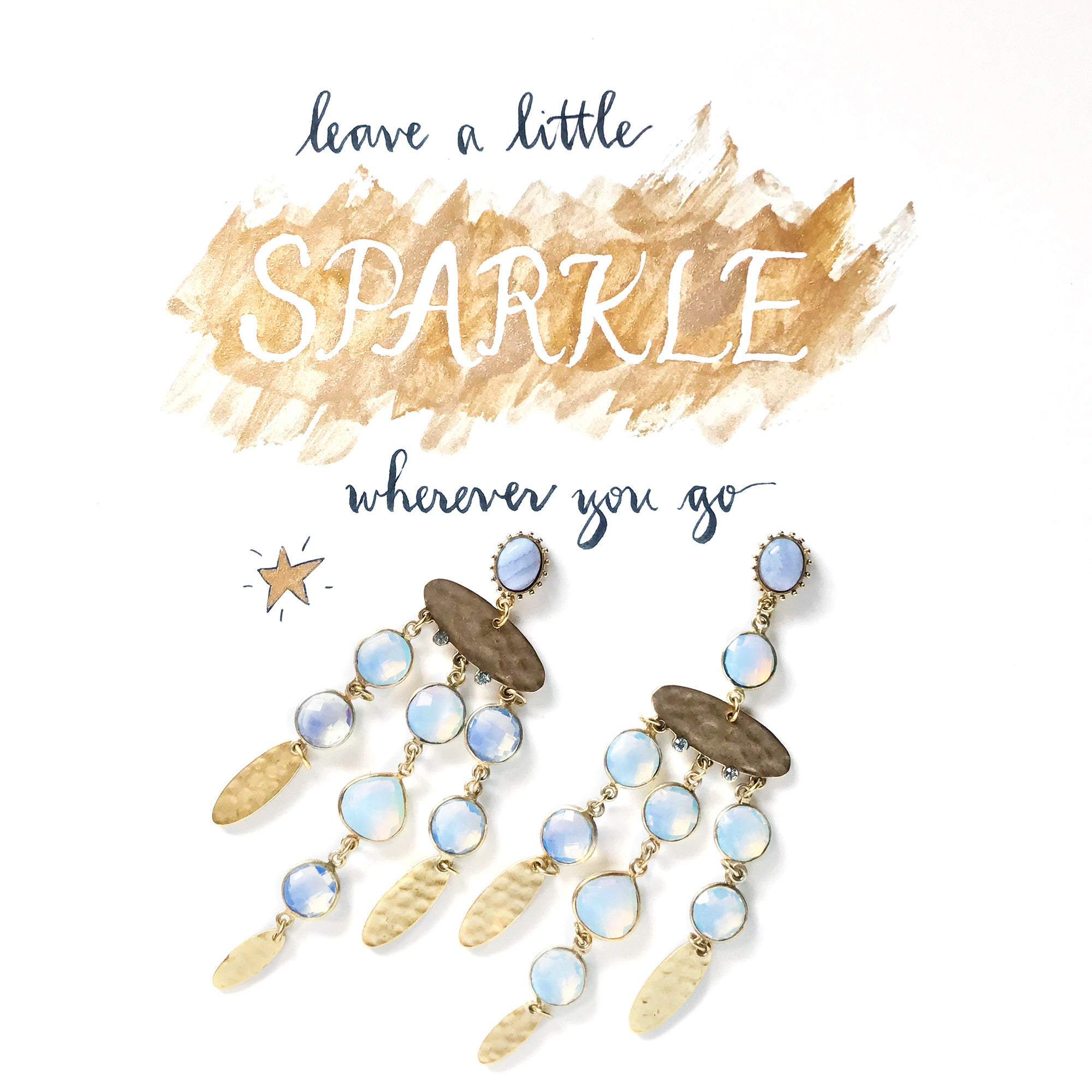 #SequinSayings - Leave a Little Sparkle...