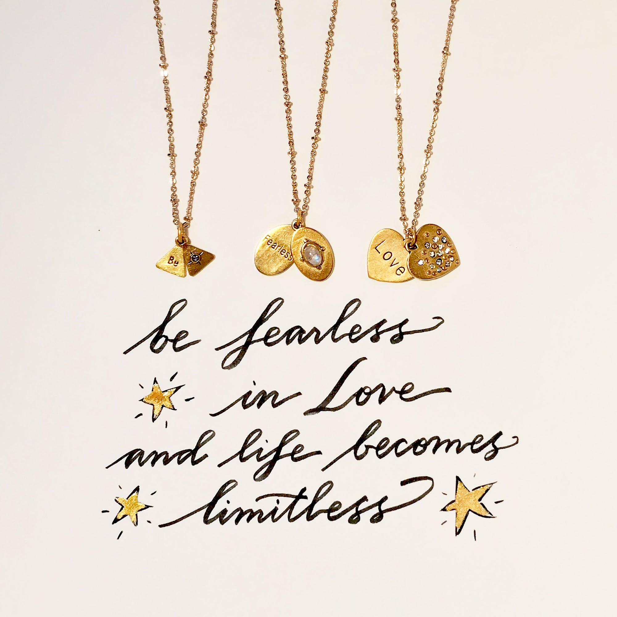 #SequinSayings - Be Fearless in Love...