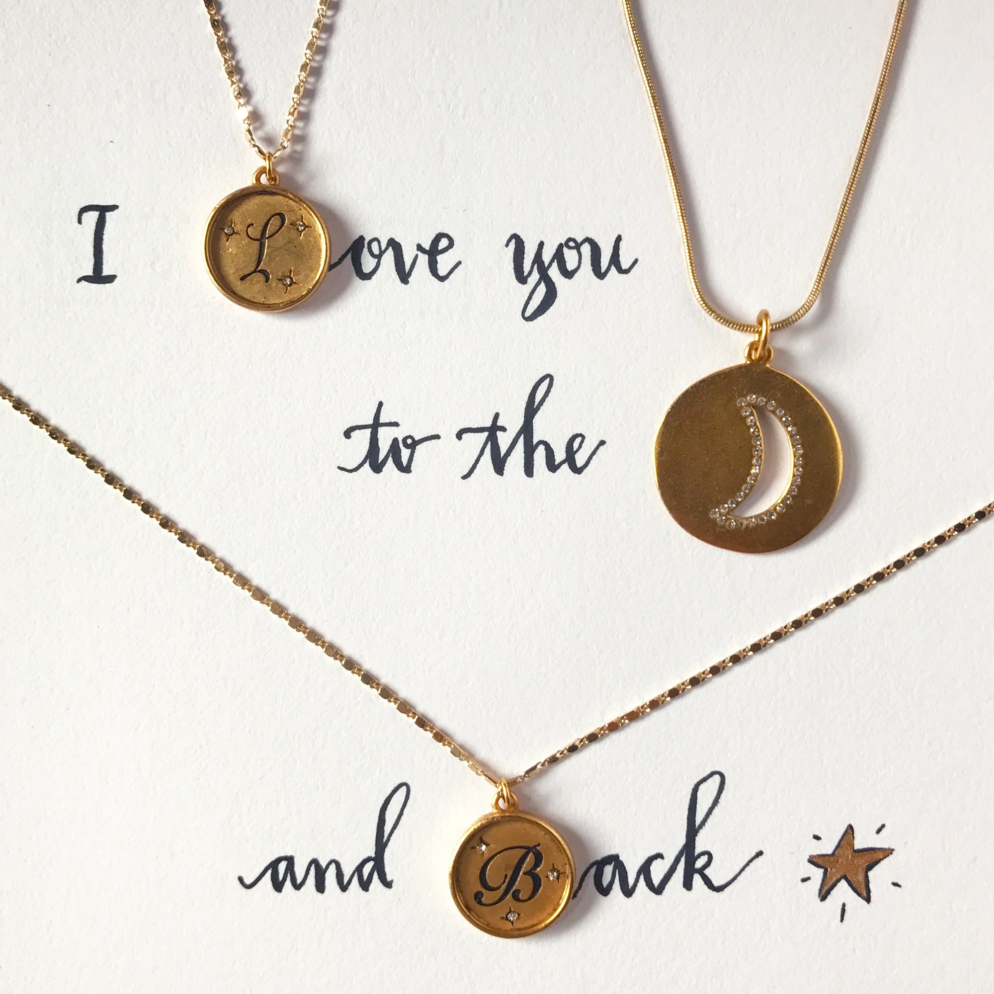 #SequinSayings - I Love You to the Moon...