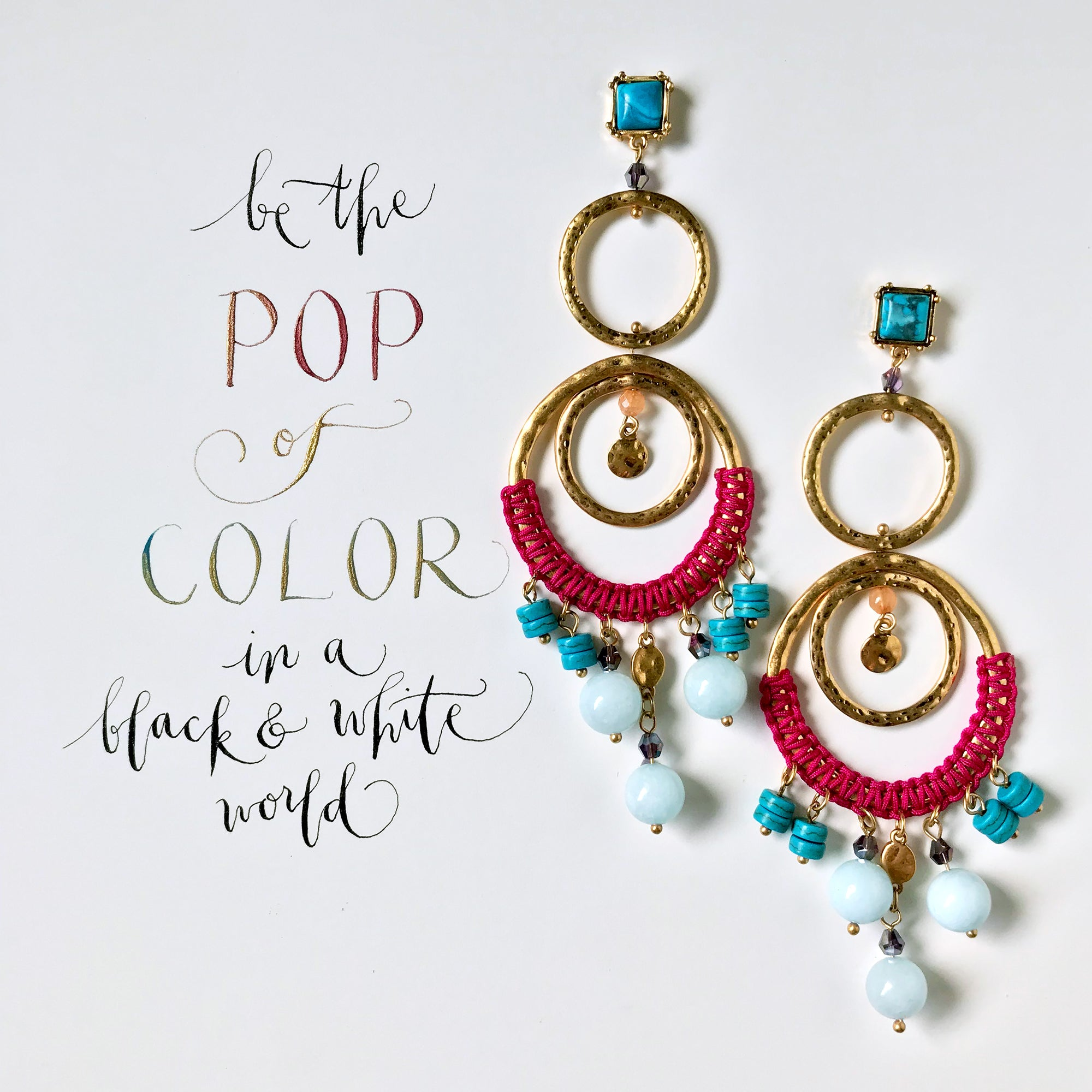 #SequinSayings - Be the Pop of Color...