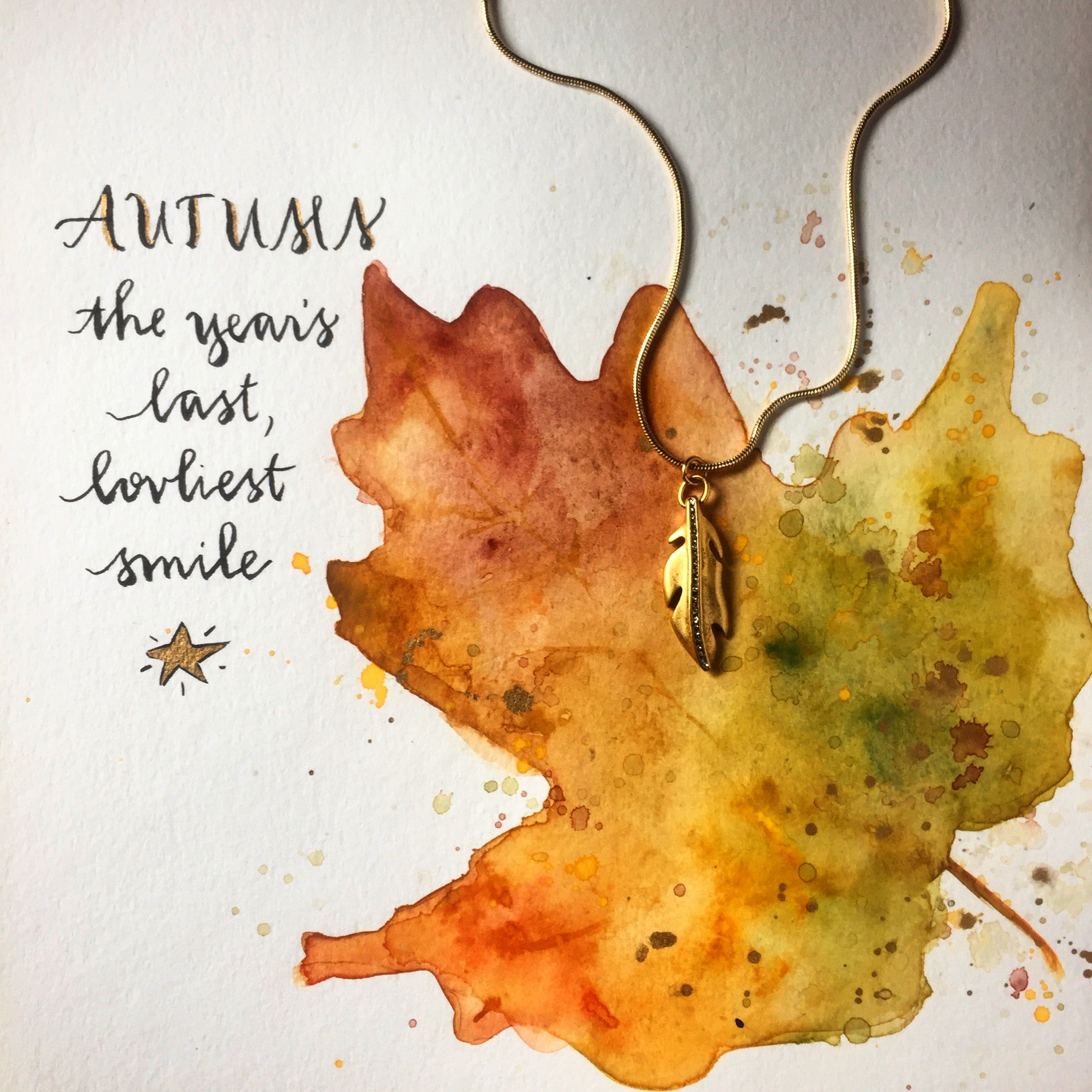 #SequinSayings - Autumn Leaves