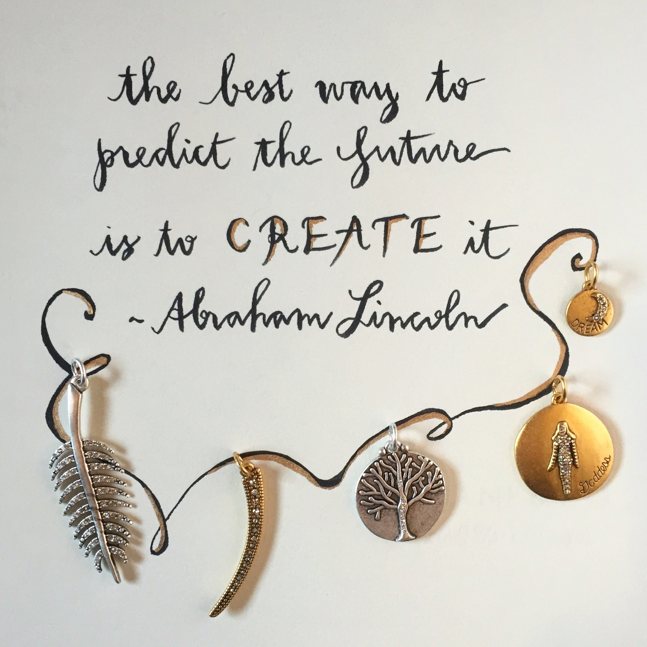 #SequinSayings - Create Your Own Future