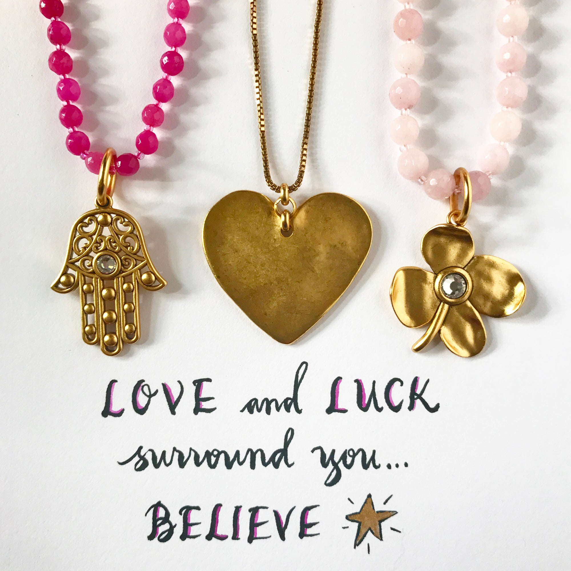 #SequinSayings - Love and Luck Surround You...
