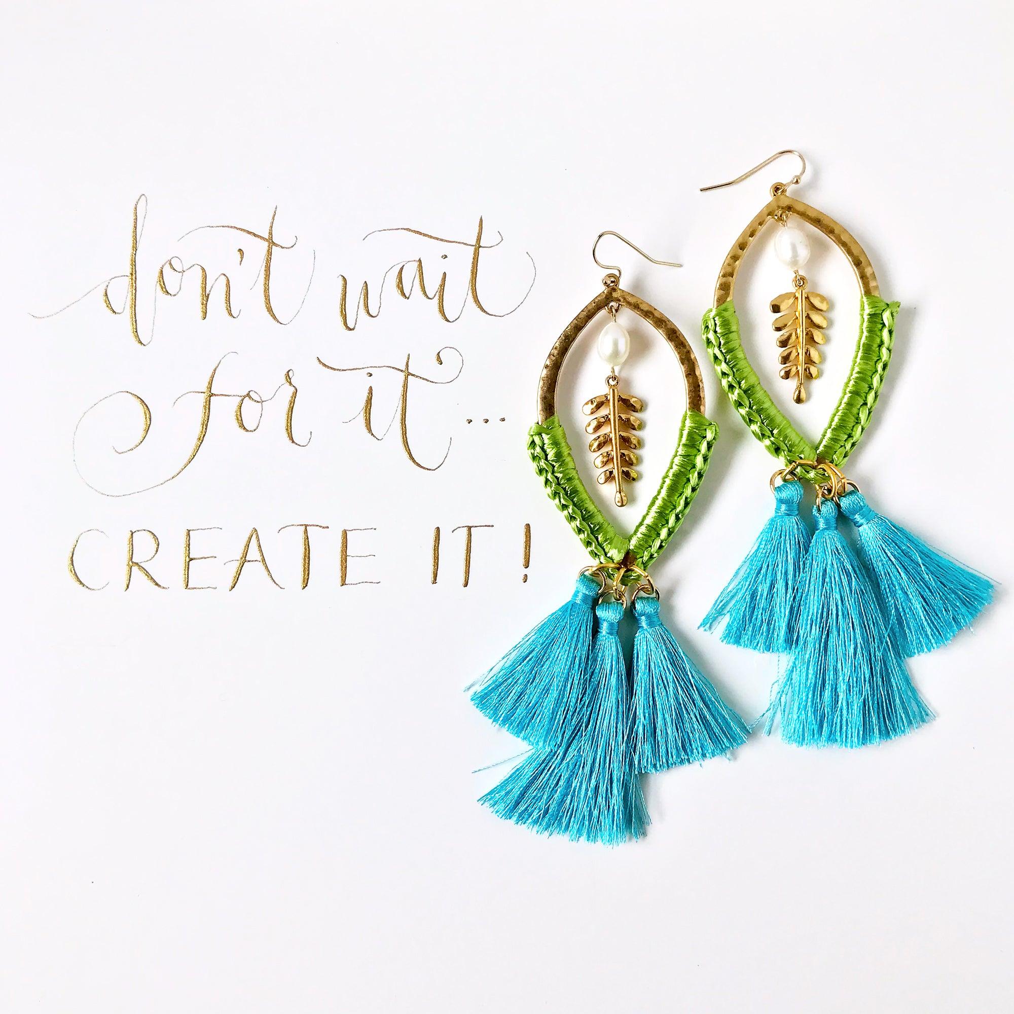 #SequinSayings - Don't Wait for It, Create It!