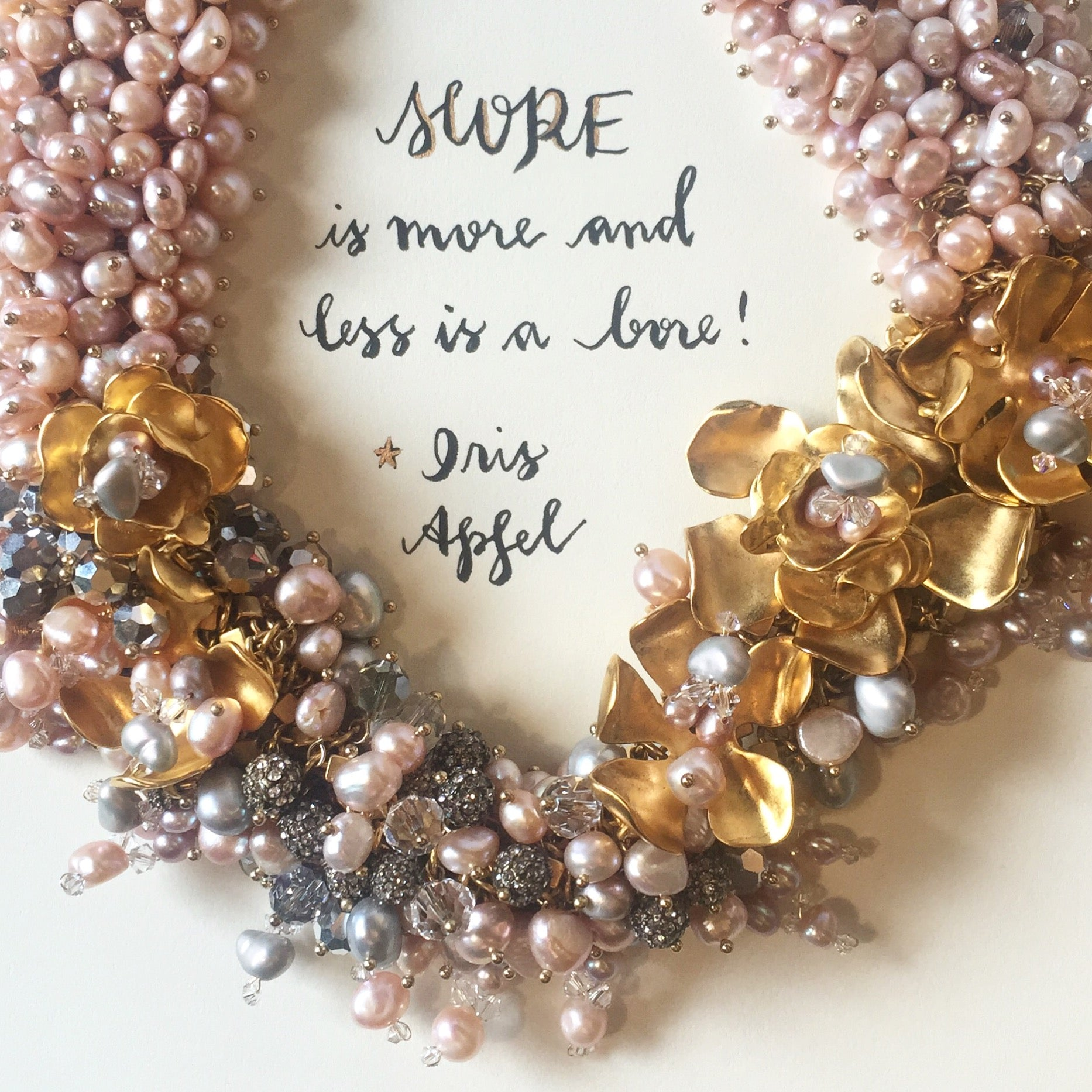 #SequinSayings - featuring our Medici Necklace