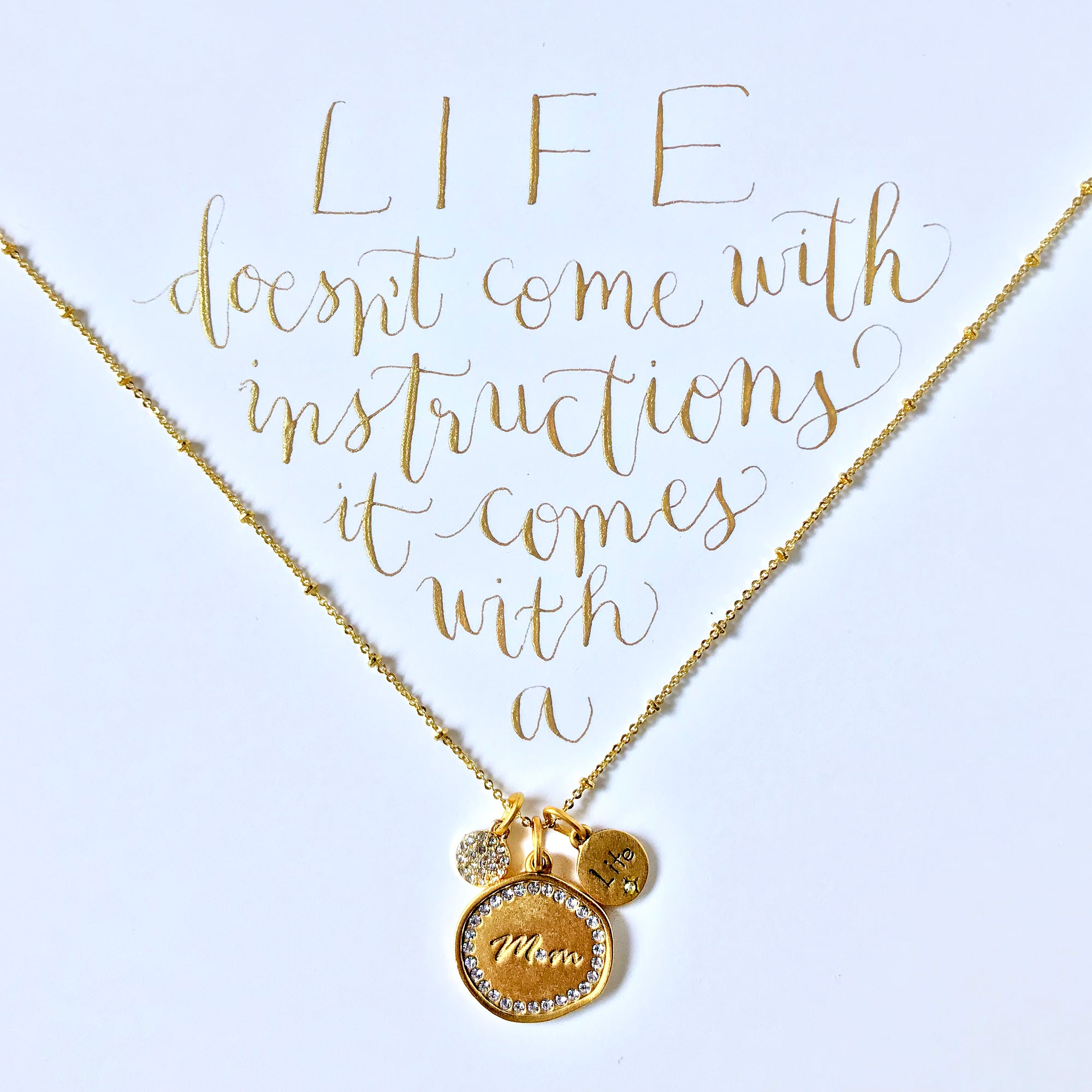 #SequinSayings - Life Doesn't Come with Instructions...