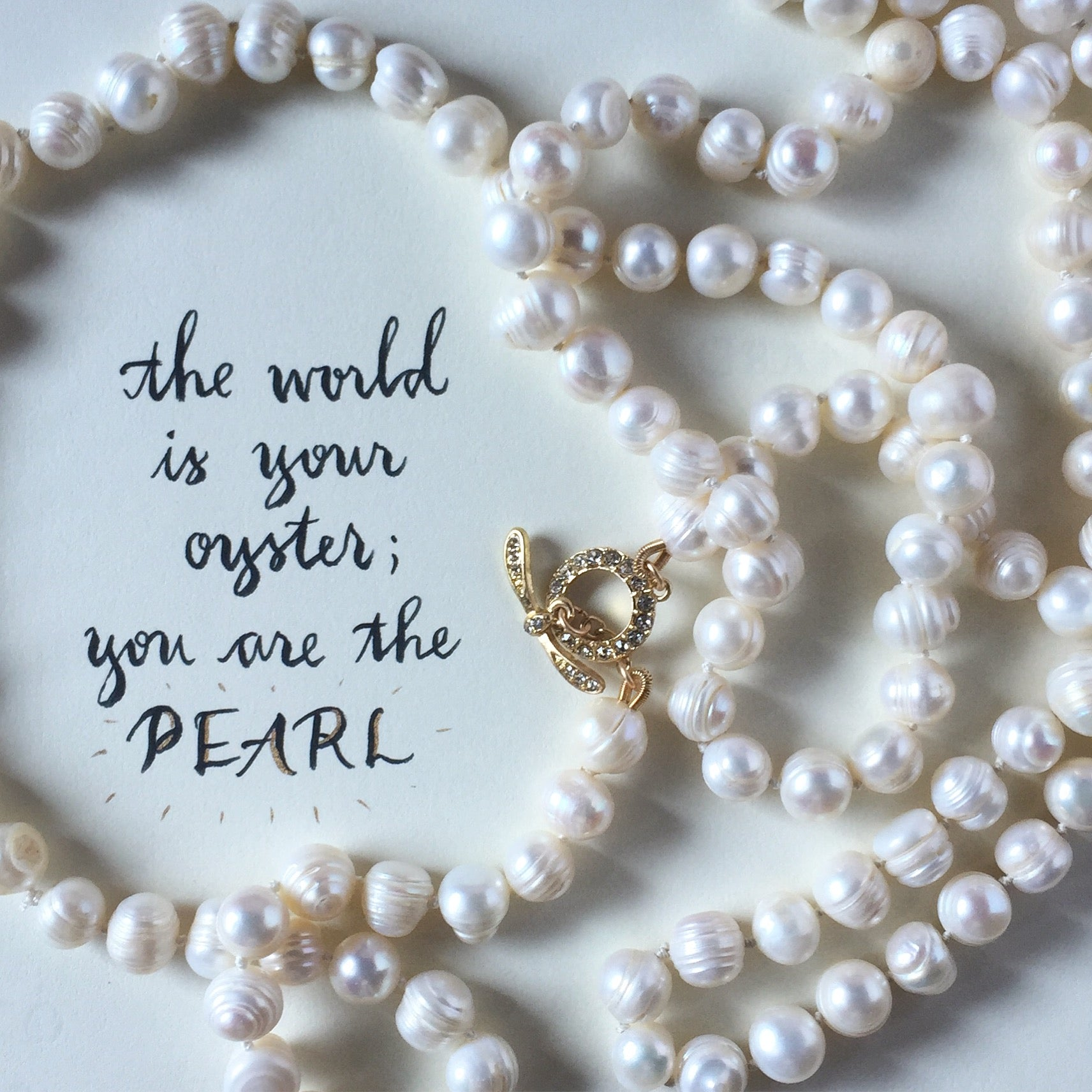 #SequinSayings - You are the Pearl