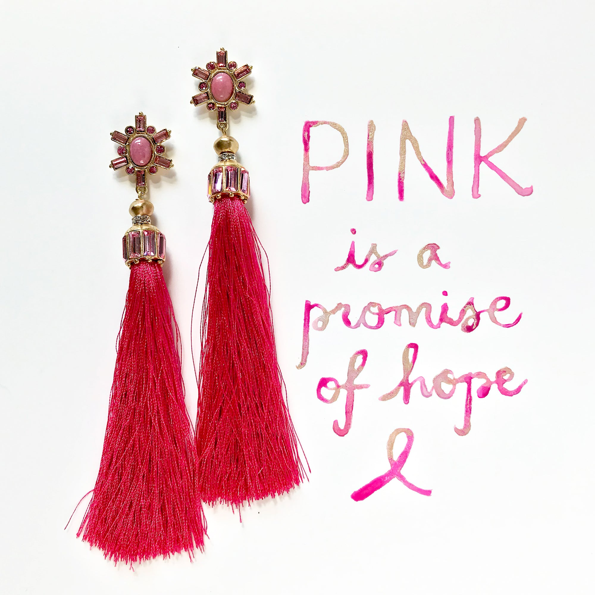 #SequinSayings - Pink is a Promise of Hope