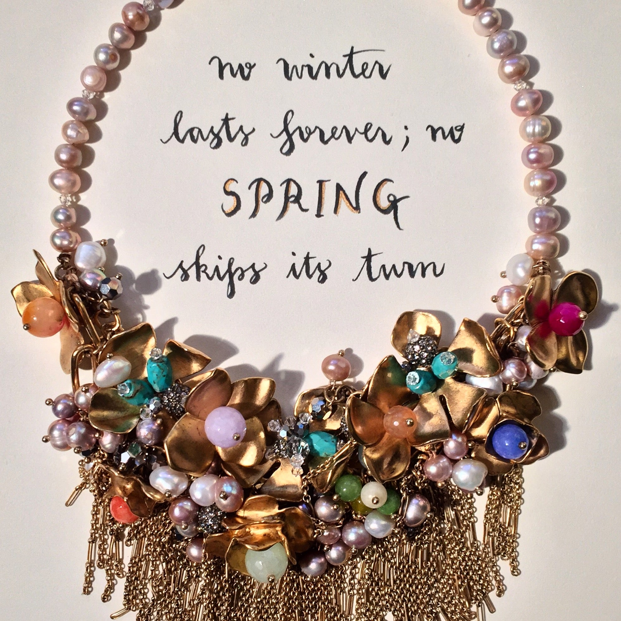 #SequinSayings - Spring is Coming...