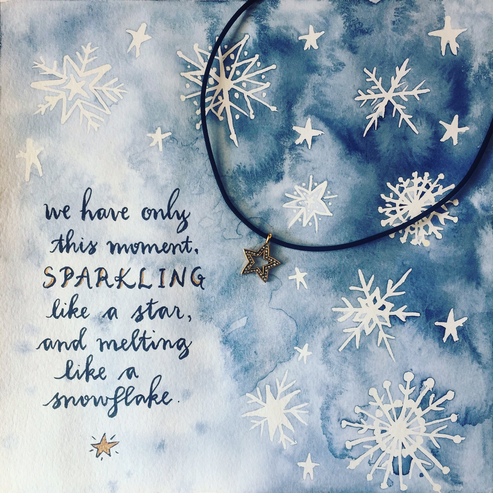 #SequinSayings - Snowflakes and Stars