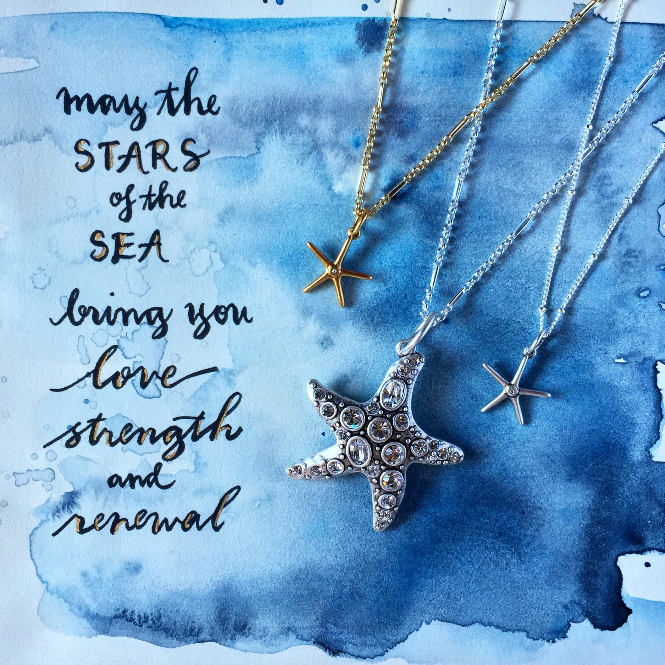 #SequinSayings - Stars of the Sea