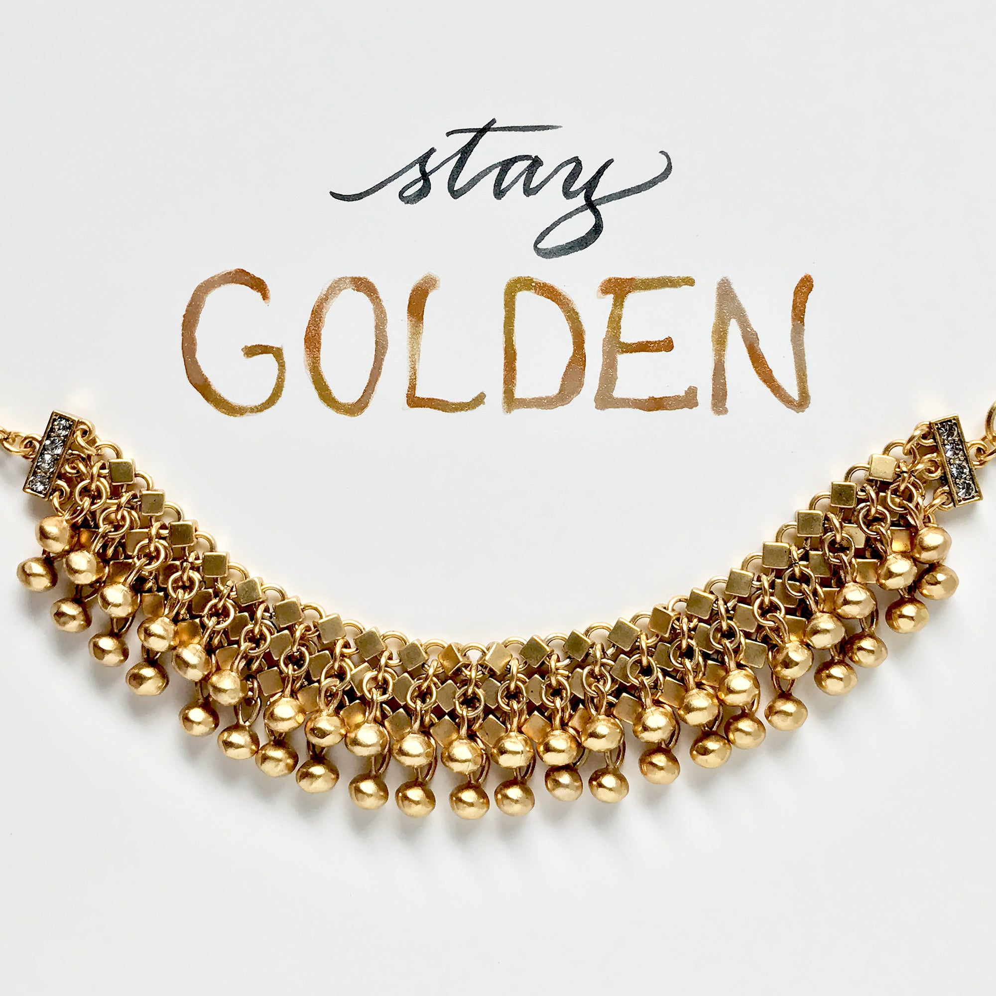 #SequinSayings - Stay Golden