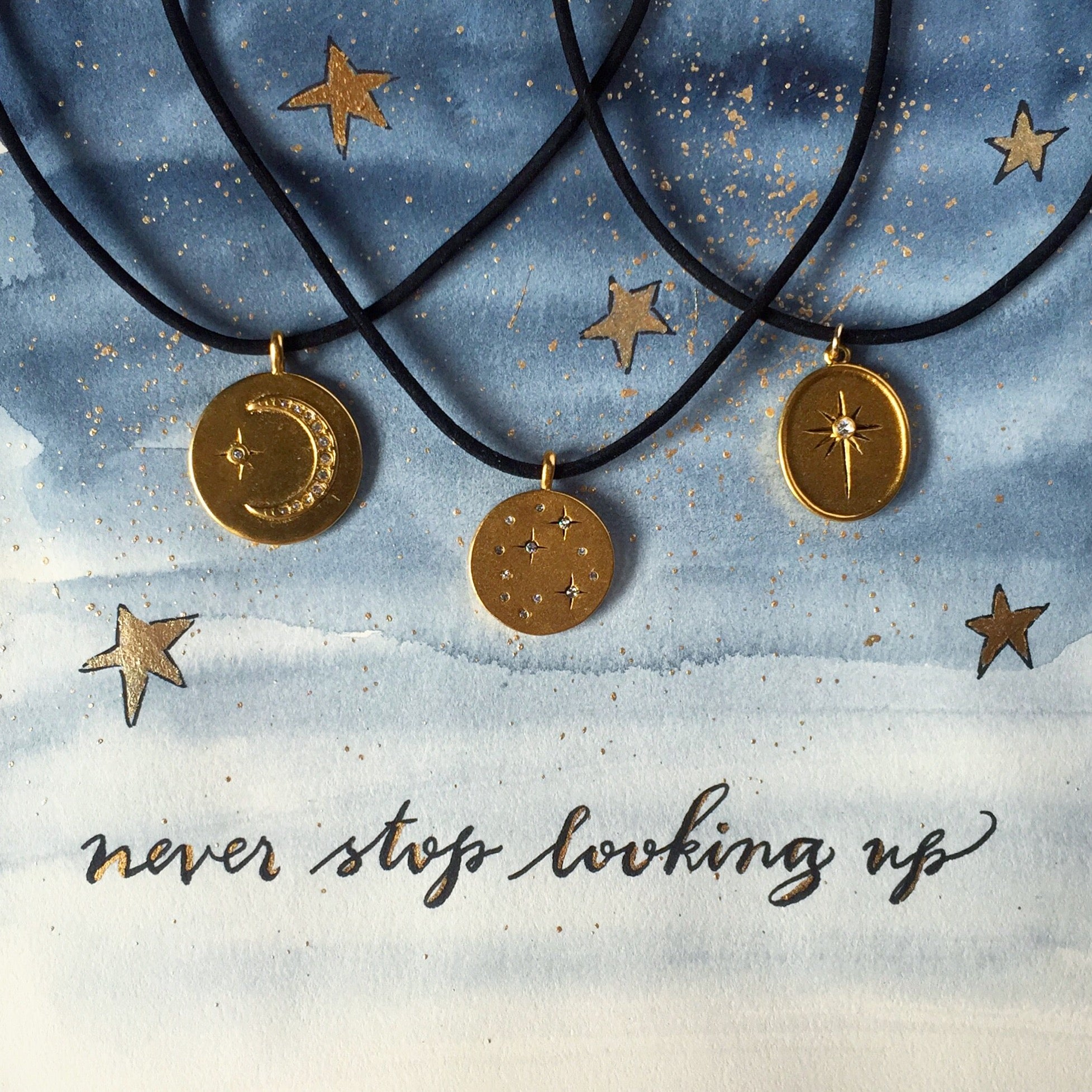 #SequinSayings - Never Stop Looking Up