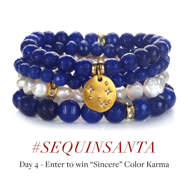 #SequinSanta Day 4 - Instagram Contest to Win Sincere Color Karma