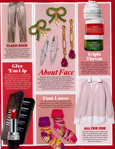 Sequin Jewelry Featured in the Favorite Things Issue of O, The Oprah Magazine