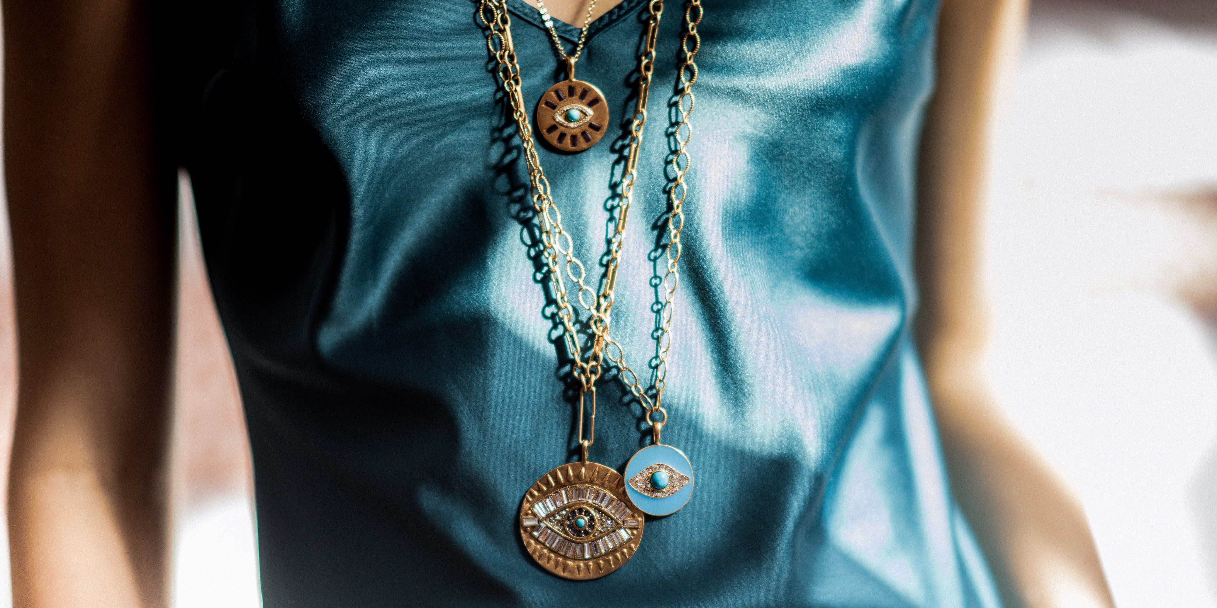 Talisman Necklace Collection by Sequin