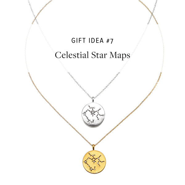 #SequinGifts Idea 7 - Celestial Star Maps Necklaces