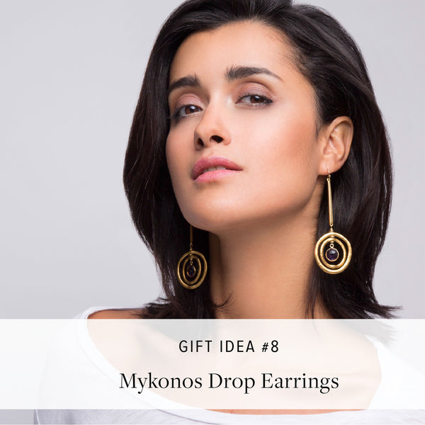 #SequinGifts Idea 8 - Mykonos Drop Earrings