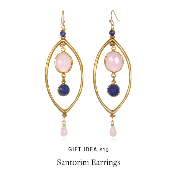 #SequinGifts Idea 19 - Santorini Drop Earrings