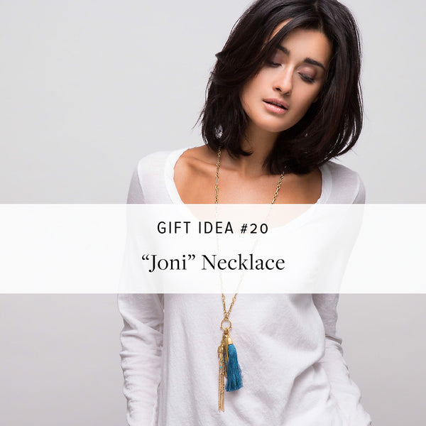 "#SequinGifts Idea 20 - ""Joni"" Necklace"
