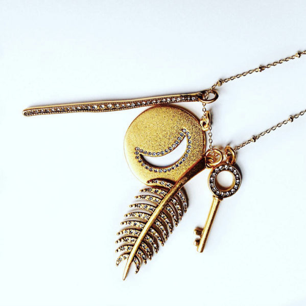 KB Styled - Custom Sequin Talisman Necklace